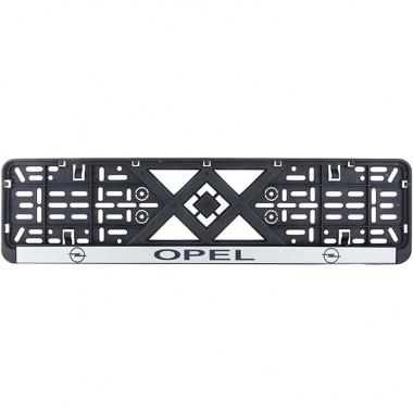 Рамка номерного знака Bi-Plast OPEL BP-231