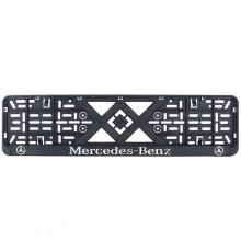 Рамка номерного знака Bi-Plast MERCEDES-BENZ (объемные буквы) BP-276