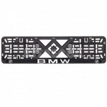 Рамка номерного знака Bi-Plast BMW (объемные буквы) BP-262