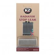 Герметик радиатора порошок K2 STOP LEAK-BLISTER 28 г.