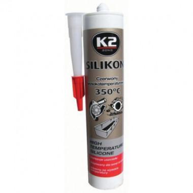 Силиконовый герметик +350С (красный) K2 SIL RED 300 г.