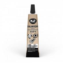 Силиконовый герметик +350С (черный) K2 SIL BLACK 21 г.