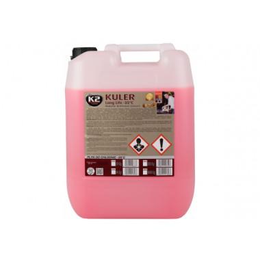 Концентрат антифриза K2 KULER KONC RED 20 литров.