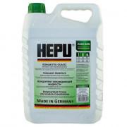 Концентрат антифриза HEPU G-11 зеленый 5 литров.