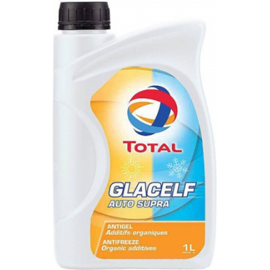 Концентрат антифриза Total Antifreeze Glacelf Auto Supra 1 литр.