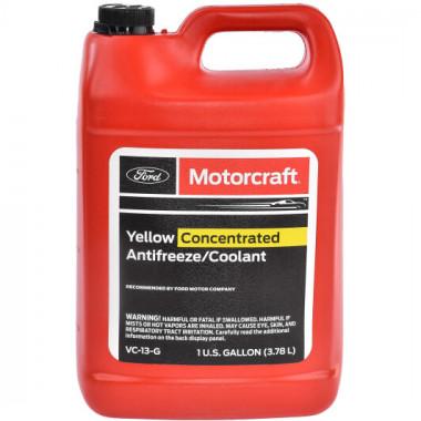 Концентрат антифриза Ford Motorcraft Yellow Concentrated Antifreeze -80°C 3,785 литра.