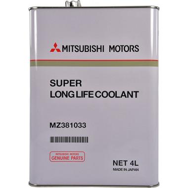 Концентрат антифриза Mitsubishi Long Life Antifreeze Coolant зеленый 4 литра.