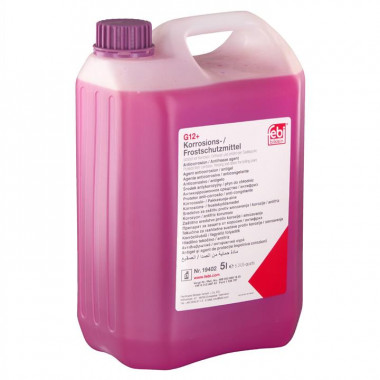 Концентрат антифриза FEBI 19402 фиолетовый G12+ 5 литров.