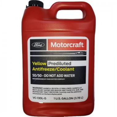 Концентрат антифриза Ford Motorcraft Yellow Antifrize -80°C 3,785 литра.