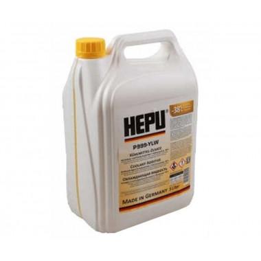 Концентрат антифриза HEPU G-11 желтый 5 литров.