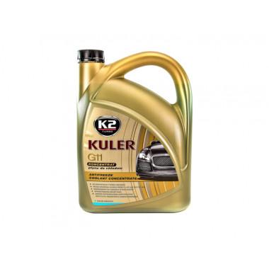 Концентрат антифриза K2 KULER KONC BLUE 5 литров.