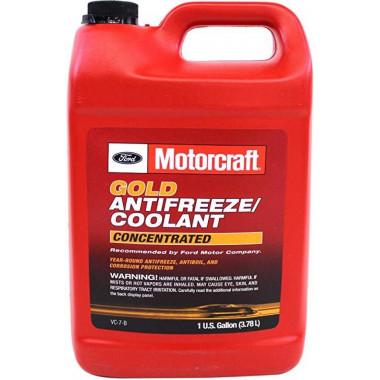 Концентрат антифриза Ford Motorcraft Gold Concentrated Antifreeze 3,78 литра.