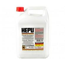 Концентрат антифриза HEPU G-12 красный 5 литров.