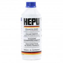 Концентрат антифриза HEPU G-11 синий 1,5 литра.