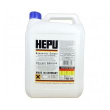 Концентрат антифриза HEPU G-11 синий 5 литров.
