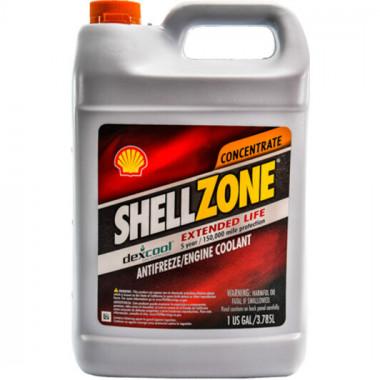 Концентрат антифриза ShellZone Dex-Cool G12 (-80) красный 3,78 литра.