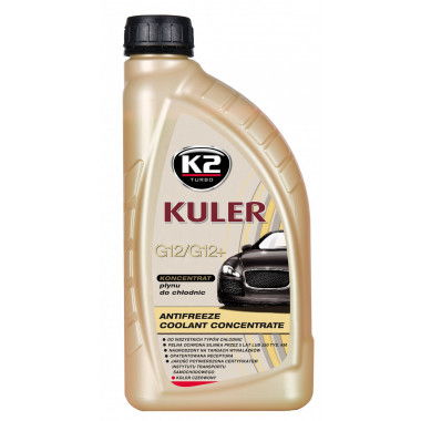 Концентрат антифриза K2 KULER KONC RED 1 литр.