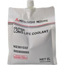 Концентрат антифриза Mitsubishi Dia Queen Super Long life Coolant зеленый 2 литра.