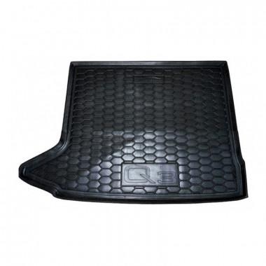 Автомобильный коврик в багажник AUDI Q3 (2011>) AVTO-Gumm