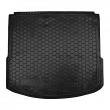 Автомобильный коврик в багажник FIAT Doblo (2010>) (5мест) корот. база AVTO-Gumm