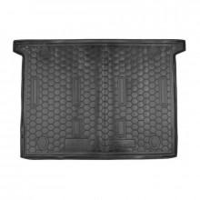 Автомобильный коврик в багажник FIAT Doblo (2010>) (7мест) корот. база AVTO-Gumm