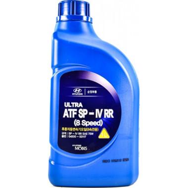 Трансмиссионное масло Hyundai Kia для АКПП Mobis Ultra ATF SP-IV RR 1 литр.