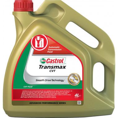 Трансмиссионное масло Castrol для АКПП Transmax CVT 4 литра.