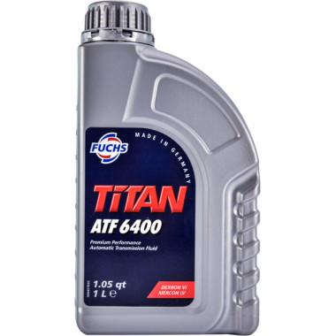 Трансмиссионное масло Castrol для АКПП Titan ATF 6400 1 литр.
