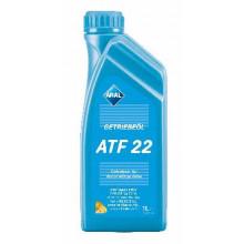 Трансмиссионное масло для АКПП Aral Getriebeoel ATF 22 1 литр.
