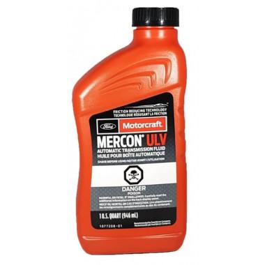 Трансмиссионное масло АКПП Ford Motorcraft Mercon ULV 0,946 литра.