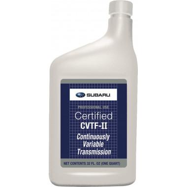 Трансмиссионное масло Subaru ATF CVTF-2 0,946 литра.