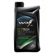 Трансмиссионное масло Wolf для АКПП ECOTECH MULTI VEHICLE ATF FE 1 литр.
