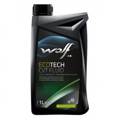 Трансмиссионное масло Wolf для АКПП ECOTECH CVT FLUID 1 литр.