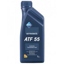 Трансмиссионное масло для АКПП Aral Getriebeoel ATF 55 1 литр.
