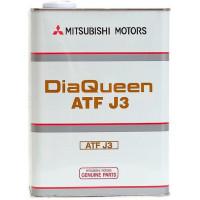 Трансмиссионное масло Mitsubishi для АКПП DiaQueen J3 4 литра.