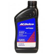 Трансмиссионное масло ACDelco для АКПП ATF Dexron ULV 0,946 литра.