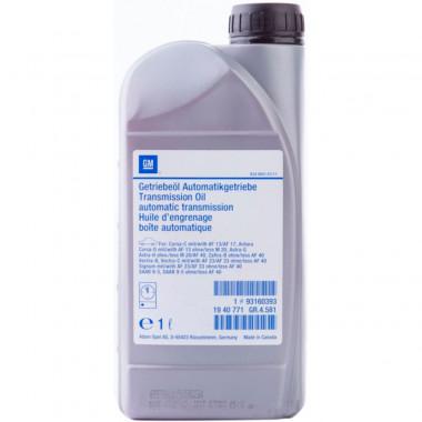 Трансмиссионное масло GM для АКПП ATF-3309 1 литр.