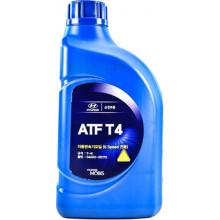 Трансмиссионное масло Hyundai/Kia для АКПП Mobis ATF T4 1 литр.