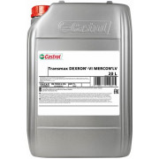 Трансмиссионное масло Castrol для АКПП Transmax Dexron-VI MERCON LV 20 литров.