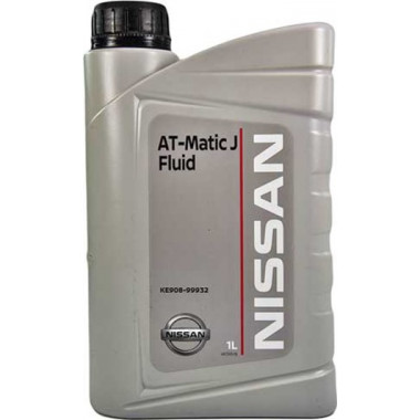 Трансмиссионное масло Nissan для АКПП Matic Fluid - J 1 литр.