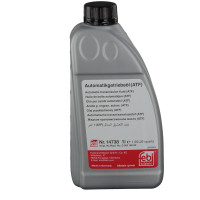 Трансмиссионное масло FEBI 14738 для АКПП ATF желтое 1 литр.