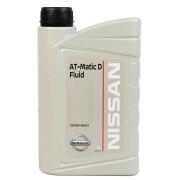 Трансмиссионное масло Nissan для АКПП Matic Fluid D 1 литр.