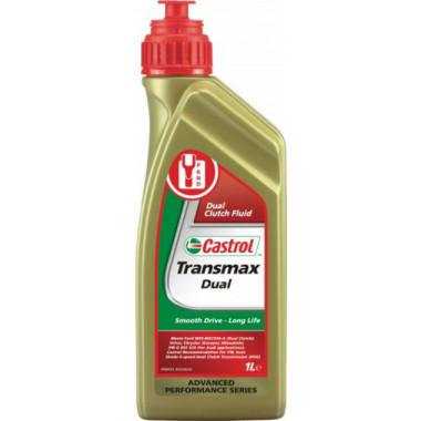 Трансмиссионное масло Castrol для АКПП Transmax DUAL 1 литр.