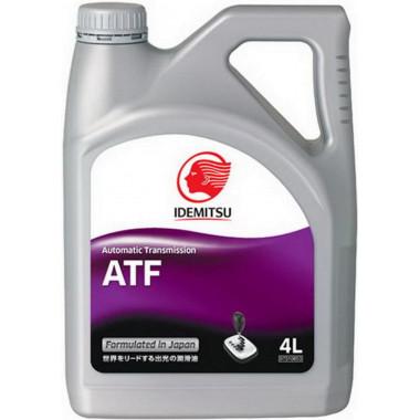 Трансмиссионное масло Idemitsu для АКПП ATF 4 литра.
