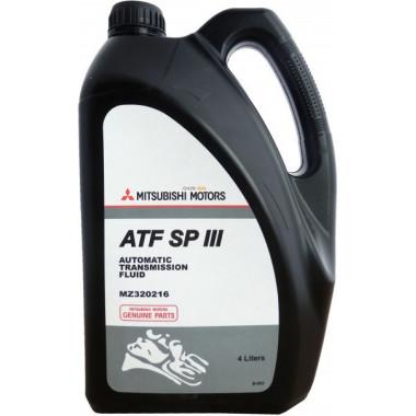 Трансмиссионное масло Mitsubishi для АКПП SP III (MZ320216) 4 литра.