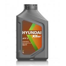 Трансмиссионное масло Hyundai Xteer для АКПП ATF III 1 литр.