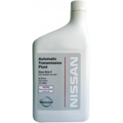 Трансмиссионное масло Nissan для АКПП Matic Fluid D 0,946 литра.