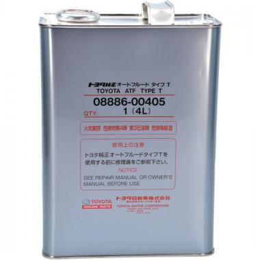 Трансмиссионное масло АКПП Toyota ATF Type T 1 литр.