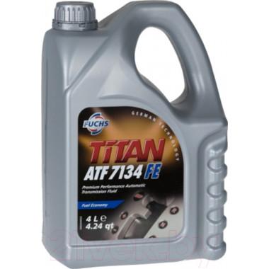Трансмиссионное масло Fuchs Titan для АКПП ATF 7134 FE 4 литра.