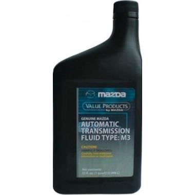 Трансмиссионное масло Mazda для АКПП ATF M3 0,946 литра.